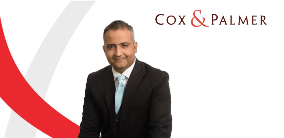 Mohammad Ali Raza Named Partner With Cox & Palmer